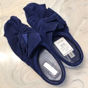 Halogen Size 9.5 Deep Navy Blue Loafers